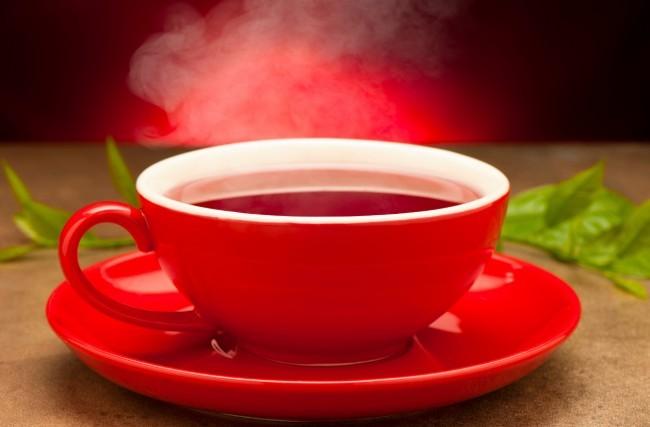 Os poderes do chá vermelho